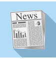 Newspaper vector image