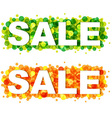 Sale Design Template vector image vector image