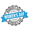 womens day stamp sign seal vector image vector image