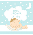 Baby Shower It is a boy vector image vector image