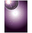 Disco Dance Background vector image vector image
