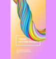 gradient painting abstract paint background vector image vector image