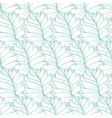 Green Tropical Leaves Texture Seamless vector image vector image