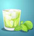 Lemon juice vector image vector image