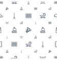 long icons pattern seamless white background vector image vector image