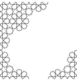 moroccan mosaic template vector image