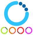 Preloader or buffer shapes circular elements