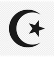 symbol islam isolated vector image