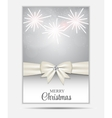 Christmas Website Banner and Card Background vector image