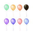 isolated group colorful gathering event air vector image