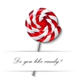 sweet and candie icon EPS vector image vector image