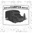 vintage camping and outdoor adventure emblems vector image vector image