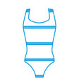 women swimming suit vector image