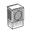 air cooler icon doodle hand drawn or outline icon vector image