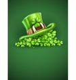 Cap of Saint Patrick in the vector image vector image