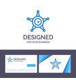 creative business card and logo template men vector image