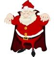 Dreadful Santa vector image vector image
