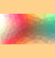 horizontal multicolor background vector image vector image