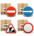Shipment Icons Set 23 vector image