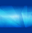 abstract on blue color background vector image
