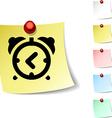 alarm-clock icon vector image