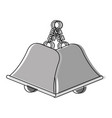 bell icon image vector image vector image