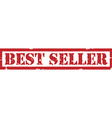 Best seller stamp vector image vector image