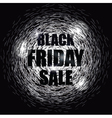 Black Friday Sale Design Banner vector image