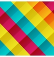 colorful checkered background vector image
