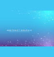 Geometric graphic background molecule and