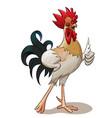 happy cock vector image vector image