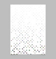 repeating dot pattern brochure template background vector image vector image