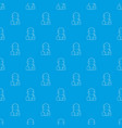 sailor pattern seamless blue vector image vector image