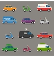 Transportation and Automotive Symbol vector image