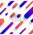 abstract flat dynamic background template vector image vector image