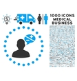 Arguments Icon with 1000 Medical Business vector image vector image