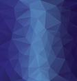 blue sky ocean polygonal triangular pattern vector image vector image