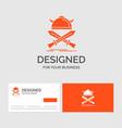 business logo template for battle emblem viking vector image vector image