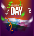 india independence day greeting card with flag