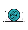 link chain url connection link business flat line vector image vector image