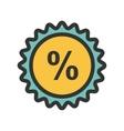 Percentage vector image vector image