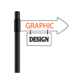 sign graphic design vector image vector image