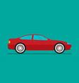 flat car eps 10 vector image vector image