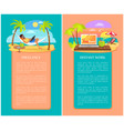 freelance and distant work as new way to get money vector image vector image