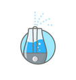 humidifier air outline icon vector image vector image