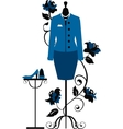 Mannequin for tailors with business dress vector image vector image