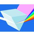 Spectrum prism vector image