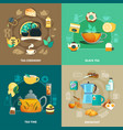tea design concept vector image