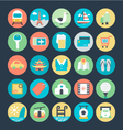 Travel Colored Icons 2 vector image vector image