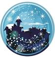 Winter Snow Globe vector image vector image
